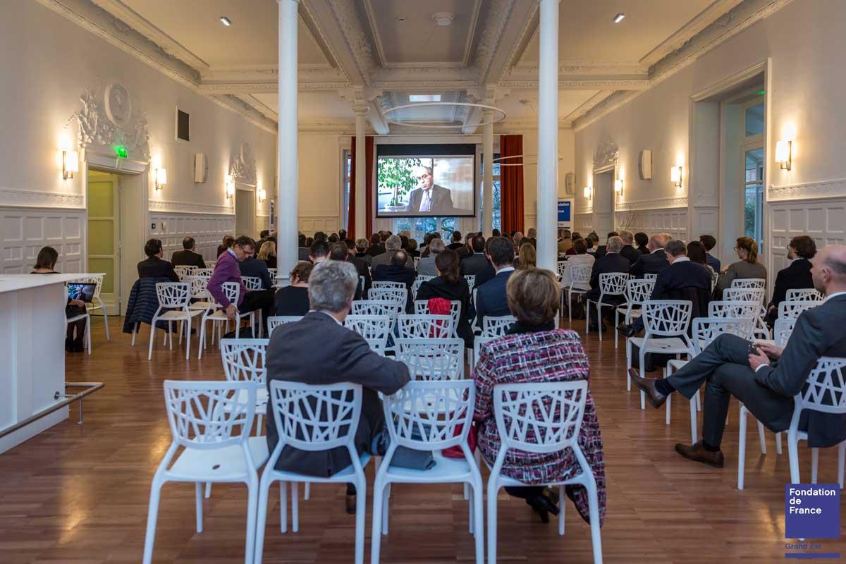 reportage photographe événementiel seminaire fondation de france
