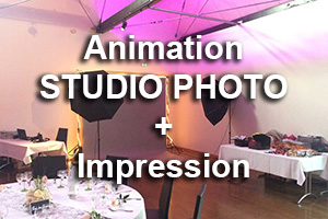 animation studio photo impression texte